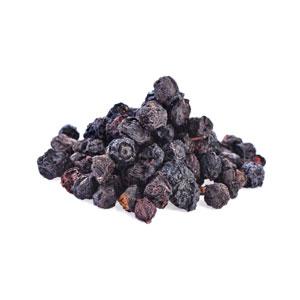 אוכמניות מיובשות ללא סוכר – 500 גרם פיצוחים ופירות יבשים