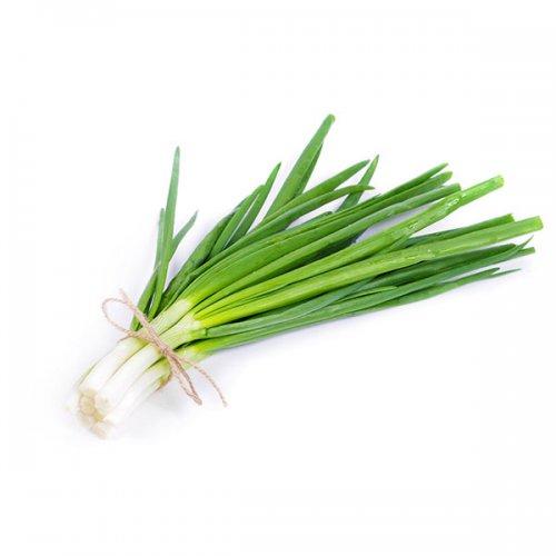 בצל ירוק ירק ופטריות