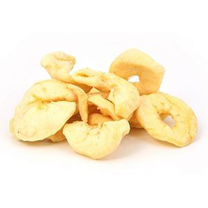 תפוח עץ מיובש ללא סוכר – 200 גרם פיצוחים ופירות יבשים