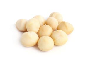 Peeled Macadamia nut