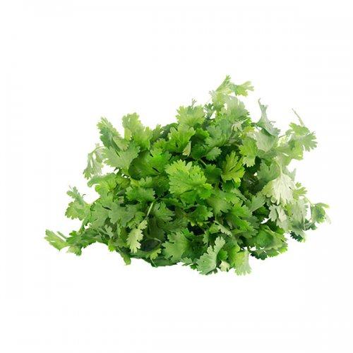 כוסברה ירק ופטריות