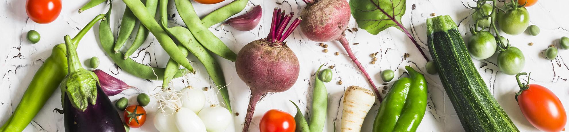 """תפו""""א לבן גורמה ירקות"""